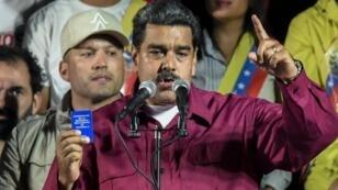 Le président vénézuélien Nicolas Maduro, le 22 mai 2018, à Caracas.