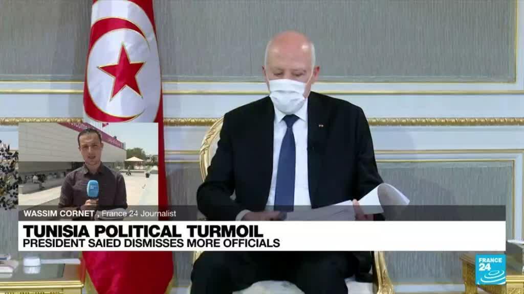 2021-07-29 13:01 Tunisian presidency sacks head of national TV channel