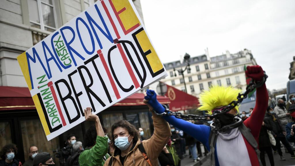 """Loi """"sécurité globale"""" : des ONG alertent sur """"les conséquences dangereuses pour les libertés individuelles"""""""