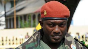 Aboubakar Sidiki Diakité le 2 octobre 2009 à Conakry, avant sa fuite au Sénégal.