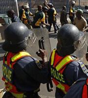 انتشار مكثف للشرطة في شوارع جوهانزبورغ (www.sport24.co.za)