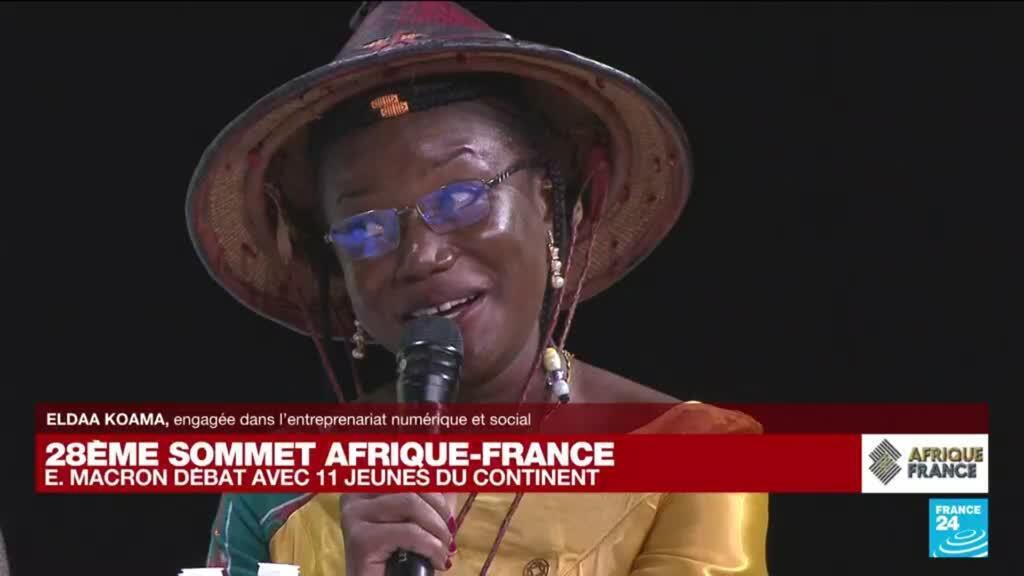 """2021-10-08 17:13 Sommet : """"Si la relation entre les pays d'Afrique et la France était une marmite, elle serait sales"""""""