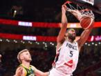 Mondial de basket: la France se console avec le bronze en battant l'Australie