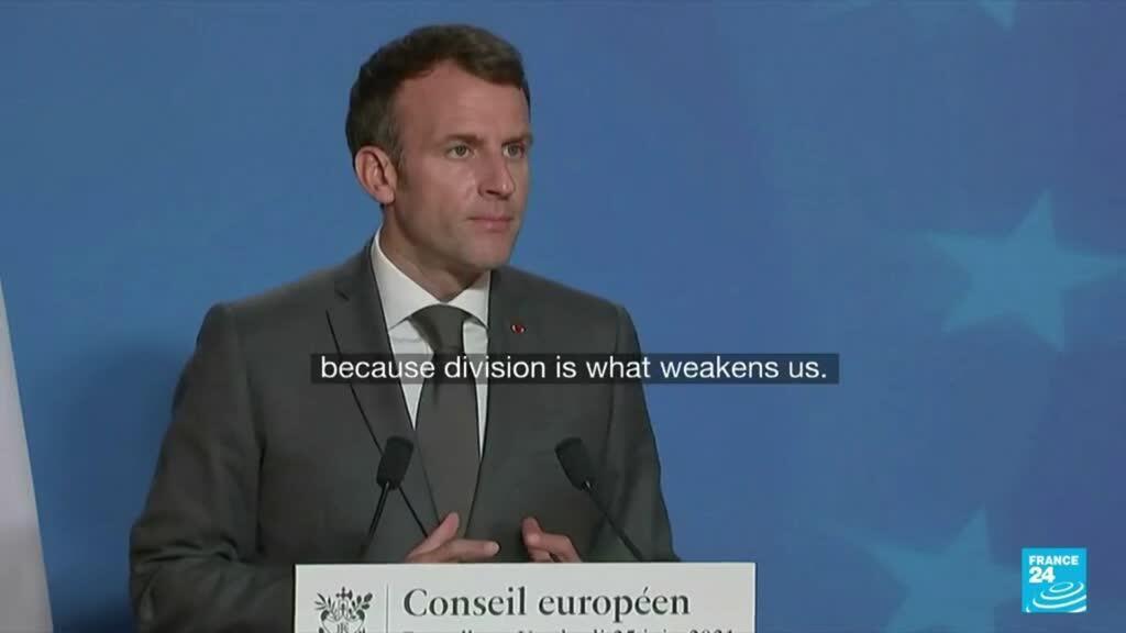 2021-06-25 18:07 Merkel, Macron fail in push for summit with Putin