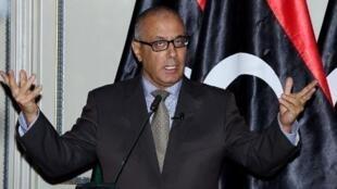Ali Zeidan, Premier ministre libyen