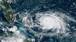 الإعصار دوريان صورة الإدارة الوطنية للمحيطات والغلاف الجوي. 31 أغسطس 2019.
