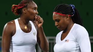 Serena et Venus Williams font parties des célebrités dont les données confidentielles ont été volées lors du piratage de l'Agence mondiale antidopage