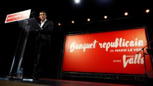 Le Premier ministre français Manuel Valls, dimanche 26 juin, à Belleville-sur-Mer.