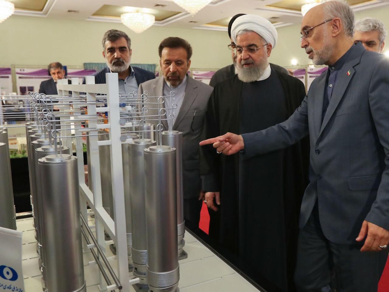 L'Iran rejette la proposition française de renégocier l'accord sur le  nucléaire