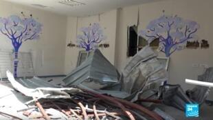 L'intérieur d'un hôpital dévasté à Beyrouth