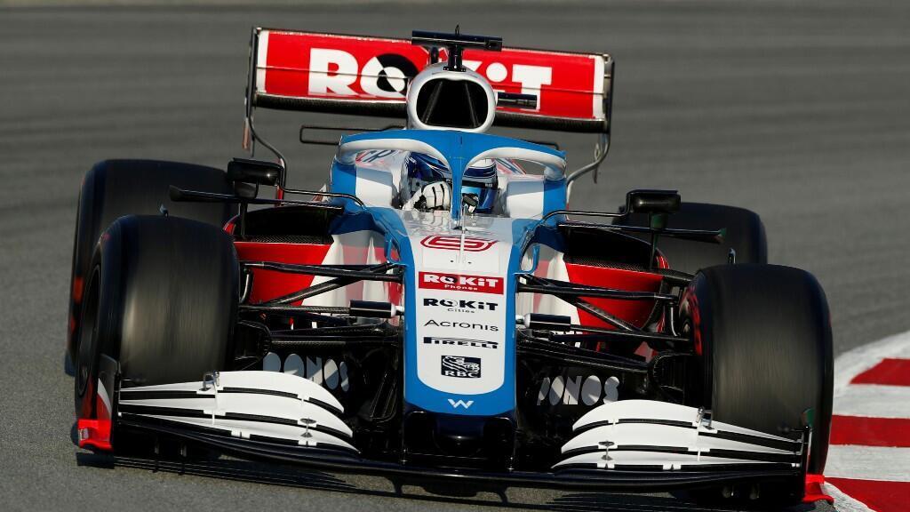 Archivo-Competidores de la Fórmula Uno F1 – hacen pruebas de pretemporada, en el Circuito de Barcelona, España, el 21 de febrero de 2020.