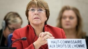 UN High Commissioner for Human Rights Michelle Bachelet has been criticized for failing to condemn human rights violations by Venezuela's President Nicolas Maduro