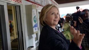 وزيرة الخارجية الأمريكية السابقة والمرشحة للانتخابات الرئاسية هيلاري كلينتون