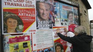 Nathalie Arthaud et Nicolas Dupont-Aignan ont recueilli plus de 500 parrainages.