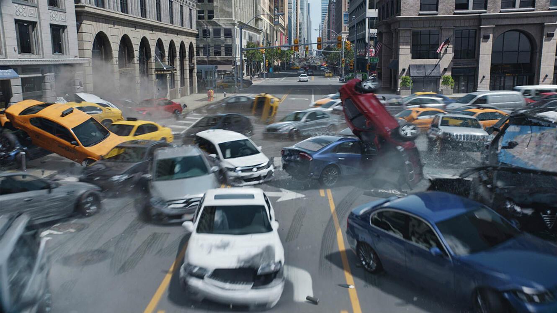 """Un piratage de voitures connectées dans """"Fast and Furious 8"""", ça donne ça."""