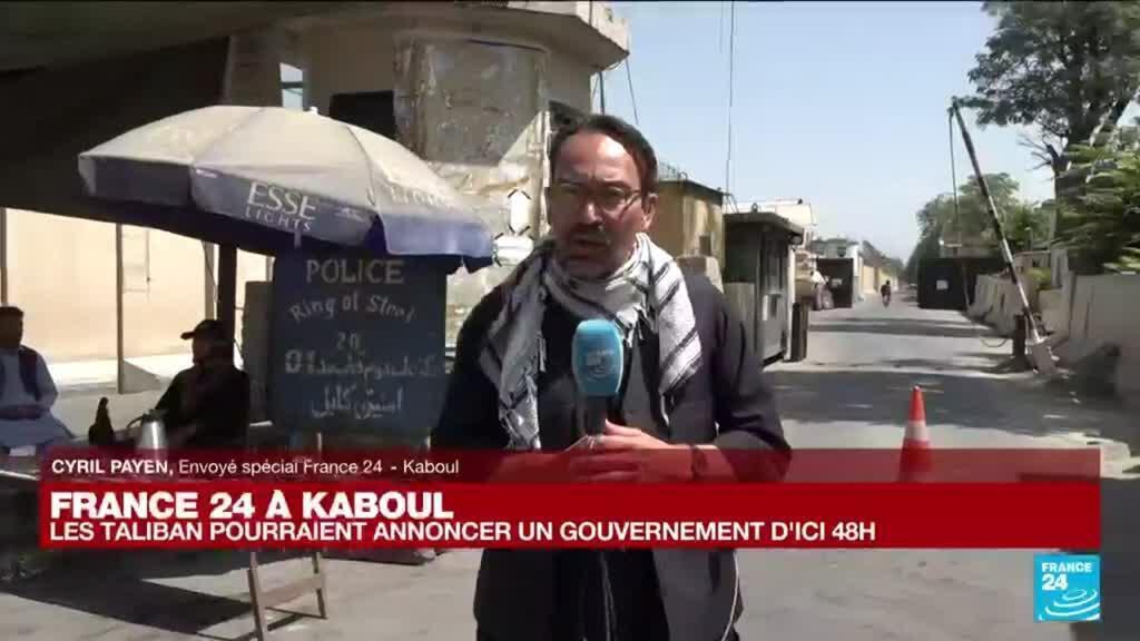 """2021-09-02 10:01 France 24 à Kaboul : """"Les Taliban cherchent à rassurer la population"""""""