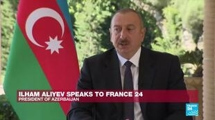 2020-10-15 08:14 'We don't have Syrian mercenaries': Ilham Aliyev speaks to France 24