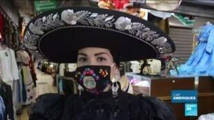 2020-05-14 11:23 Coronavirus en Amérique Latine : le masque, moyen d'expression populaire