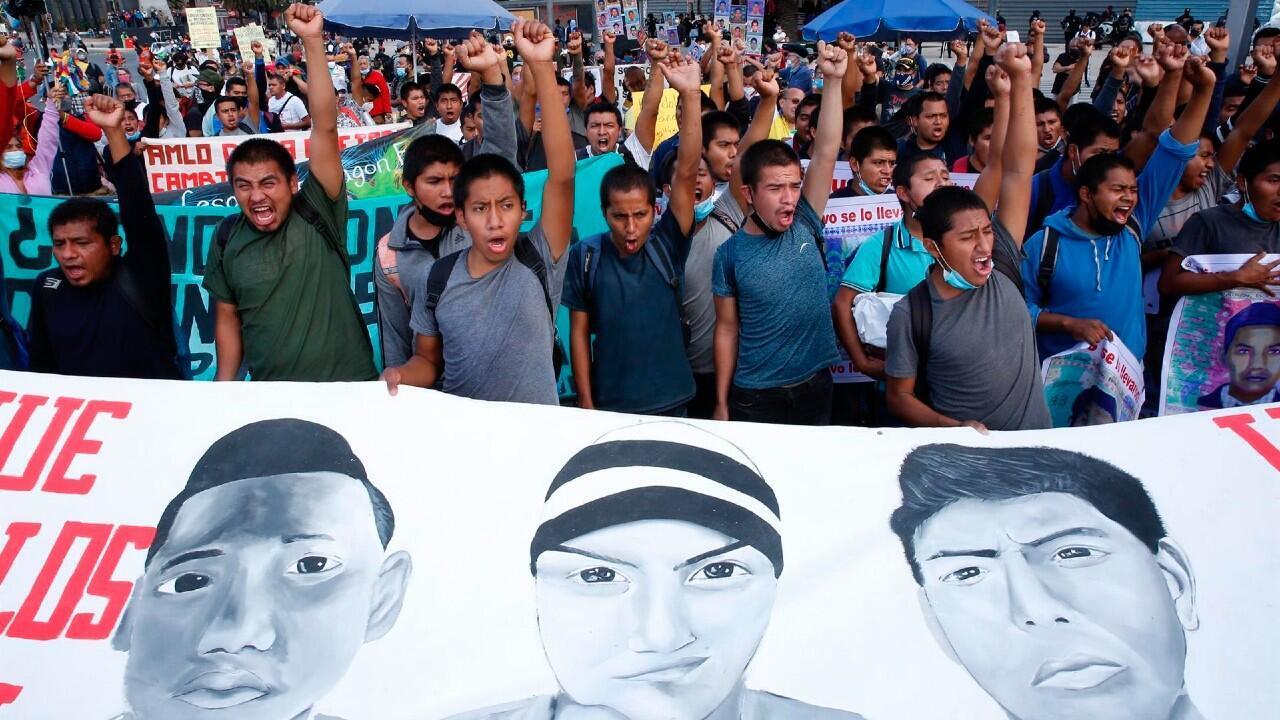 protesta ayotzinapa