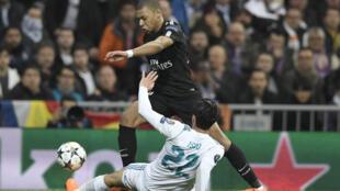 مباراة باريس سان جرمان وريال مدريد14 شباط/فبراير2018