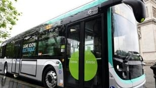 Paris currently has one bus line -- number 341 -- operational with electric buses, but the French capital is buying 800 more