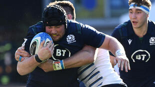 Zander Fagerson has made 36 Scotland appearances since his Test debut in 2016