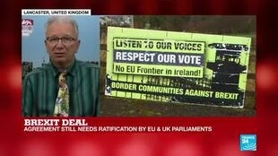 "2019-10-17 18:07 Brexit deal: ""It's not certain that it is going to get through Parliament"""