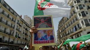 Les Algériens battent de nouveau le pavé vendredi 7 juin à Alger.