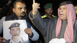 مظاهرات بالأردن للمطالبة بإطلاق سراح الطيار الأردني