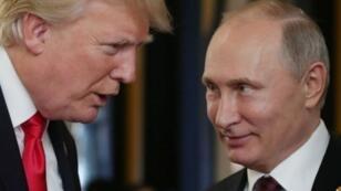 Les tergiversations de Washington ont suscité des interrogations sur la réelle volonté du président Donald Trump de tenir tête à Vladimir Poutine.