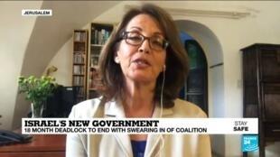 2020-05-14 10:12 Israel's Gantz-Netanyahu coalition 'could be short lived', FRANCE 24's Irris Makler says
