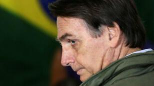 الرئيس البرازيلي المتنخب جايير بولسونارو.