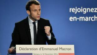 Emmanuel Macron s'est entretenu avec l'ancien président barack Obama jeudi 20 avril.
