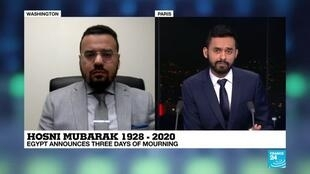 2020-02-25 21:07 Mohammed Soliman on France 24: Mubarak had lost touch with the Egyptian people in 2011