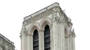 Notre-Dame cathedral paris france construction