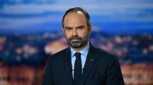 Édouard Philippe sur le plateau du journal de TFI, le 7 décembre 2018.