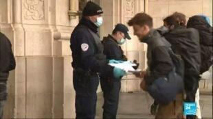 2020-04-03 16:01 Coronavirus en France : Contrôles renforcés contre les départs en vacances