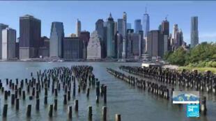 À New York, le niveau de l'eau devrait monter de près de deux mètres d'ici la fin du siècle.