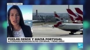 2021-04-16 19:11 Informe desde Cascais: Portugal permitirá viajes esenciales con Reino Unido y Brasil