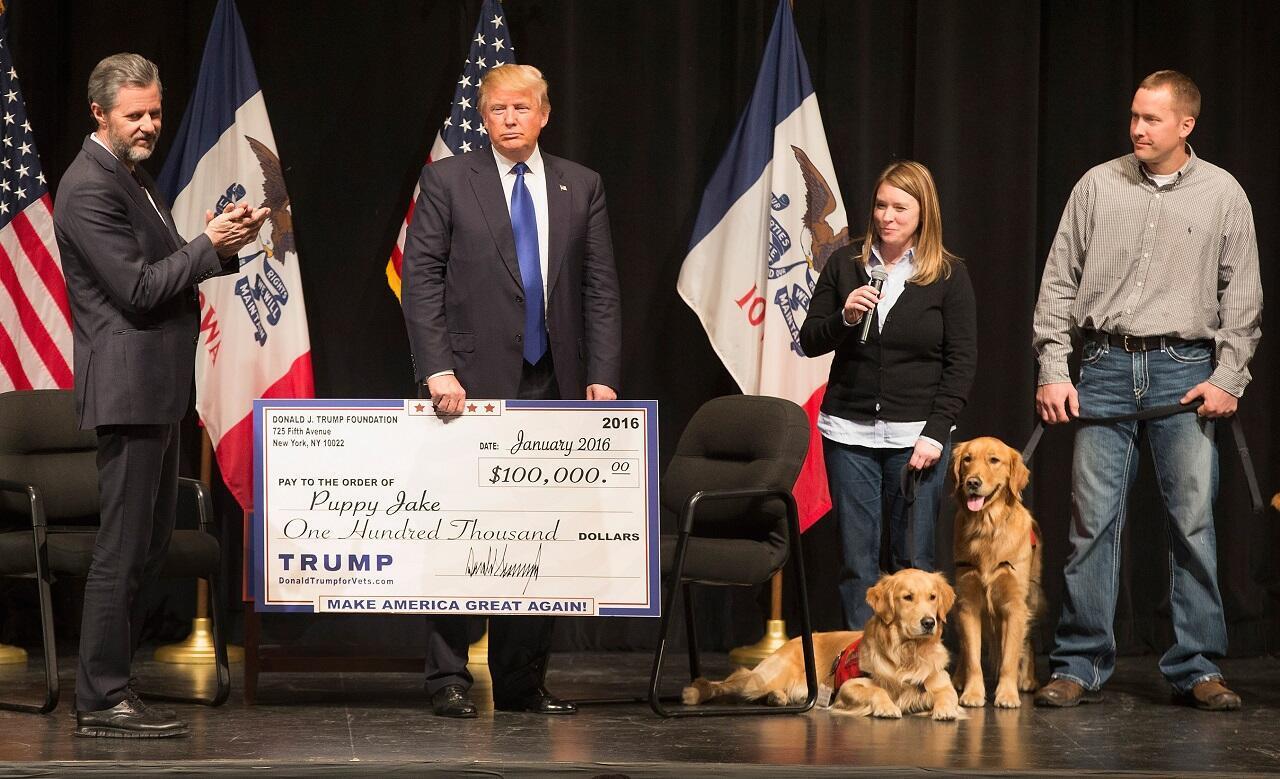 Donald Trump aurait utilisé sa fondation pour des dépenses personnelles.