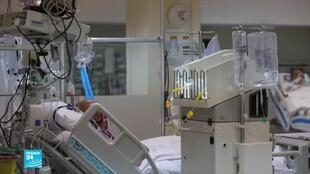 صورة ملتقطة من شاشة فرانس24 عن التقرير الخاص بالمستشفيات التركية