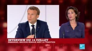 2020-07-14 14:34 Interview du 14 juillet : plan de relance, réforme des retraites... les annonces d'Emmanuel Macron