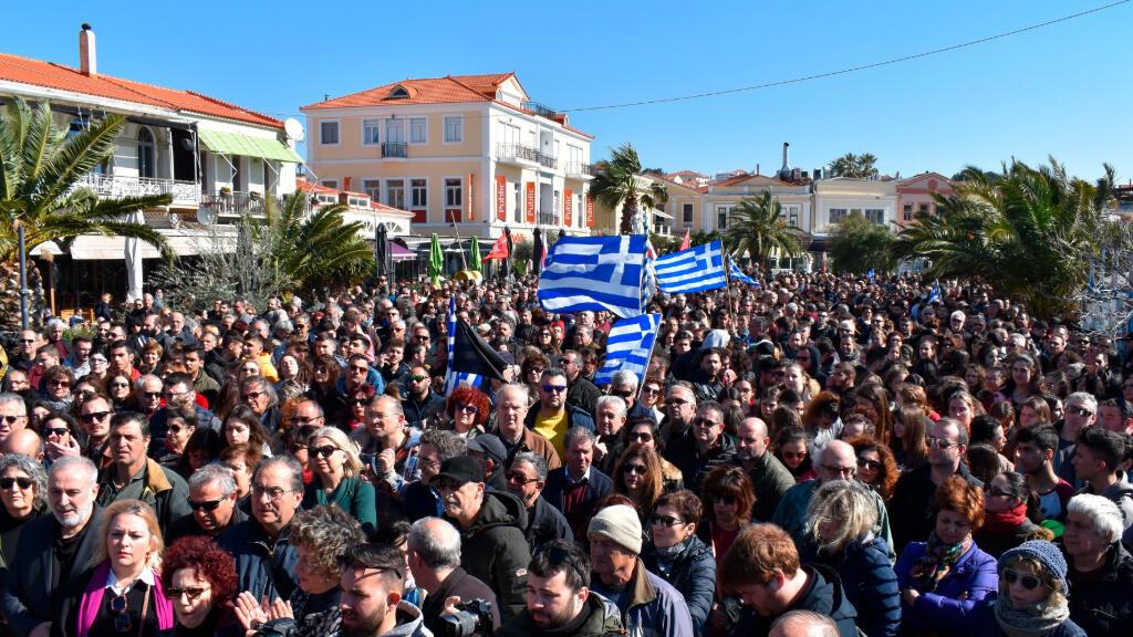 Las cinco islas griegas están todas a caballo de una ruta clave hacia Europa utilizada por miles de migrantes.