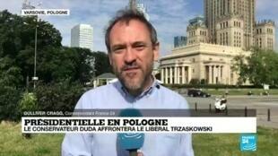 2020-06-29 09:09 Présidentielle en Pologne : le conservateur Duda affrontera le libéral Trzaskowski