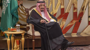 Le roi Salmane d'Arabie saoudite au sommet du Conseil de coopération du Golfe(CCG), le 31mai2019.