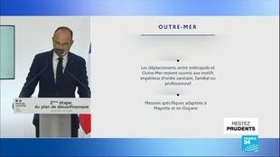 2020-05-29 11:05 Déconfinement : la Guyane et Mayotte passent à l'orange