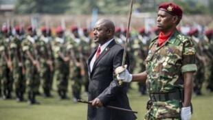 L'actuel président du Burundi, Pierre Nkurunziza.