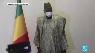 2020-09-25 08:10 Mali crisis: Designated interim president meets regional mediator