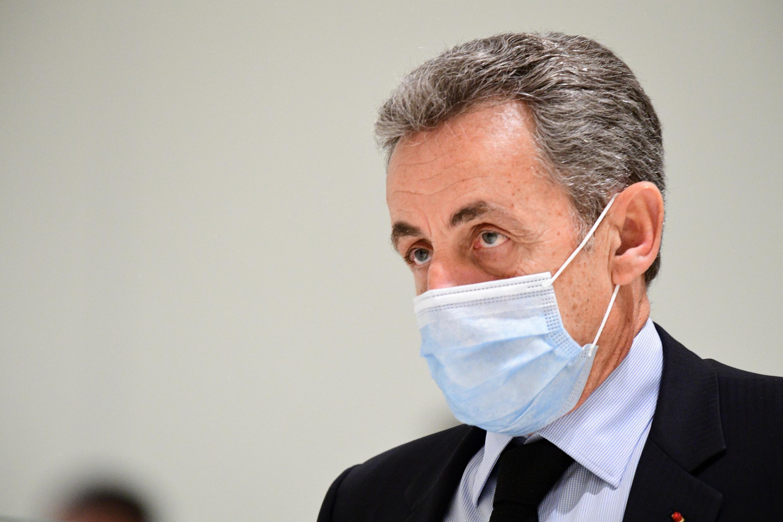 Nicolas Sarkozy au tribunal de Paris le 8 décembre 2020