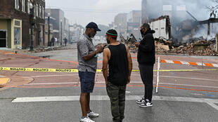 Kenosha wisconsin usa jacob blake black lives matter protests